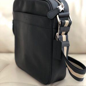 6ce8d392d1c1 Coach Bags - Coach Men s Flight Crossbody Bag Smooth Calf